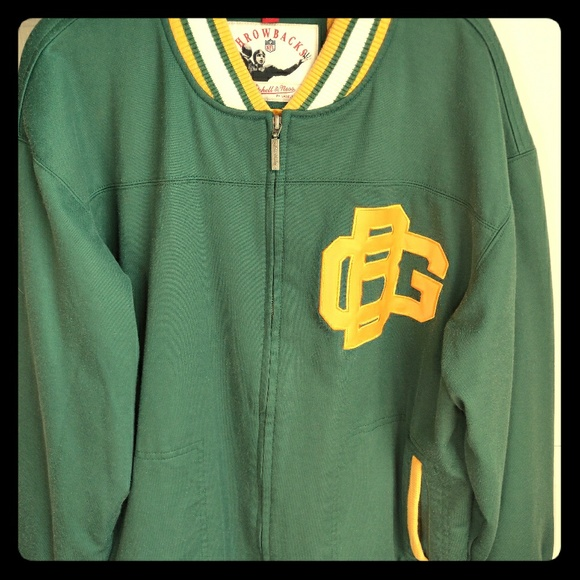 more photos 4c773 3ad6f Mitchell & Ness Packers throwback